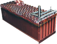 heat exchanger in copper case